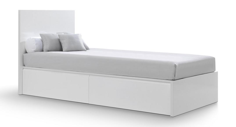 cama infantil moderna modular QC601C-2300 montada