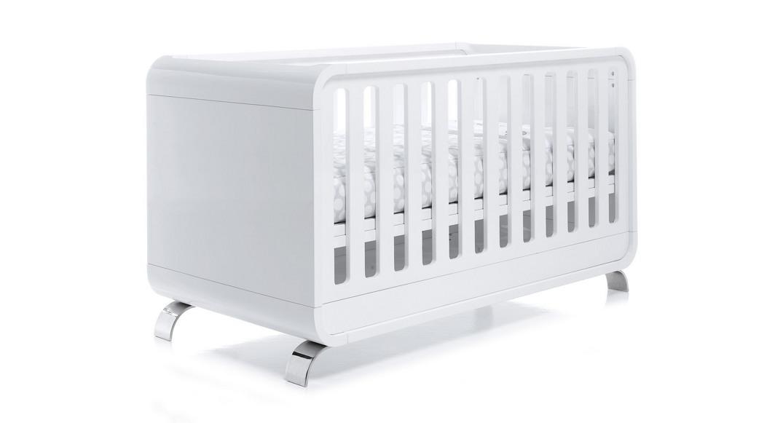 cuna para bebé diseño kurve C137-3300 montada