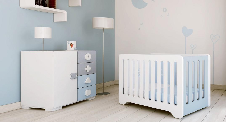 habitación infantil maths dormitorios niños niñas X2503T-2317 ambientado en habitación