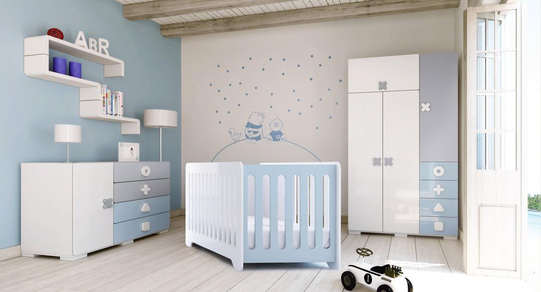 habitación infantil maths dormitorio niño y niña X351T-2315