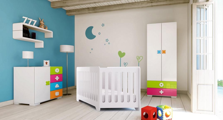 habitación infantil maths dormitorio niño y niña X354T-2350