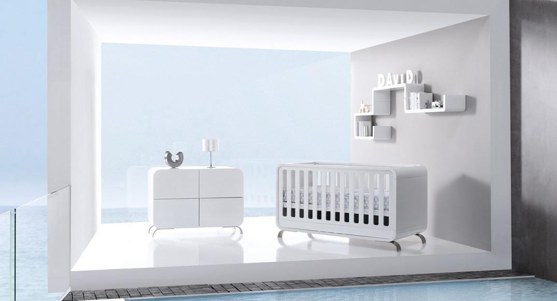 cuna y comoda bebe moderna