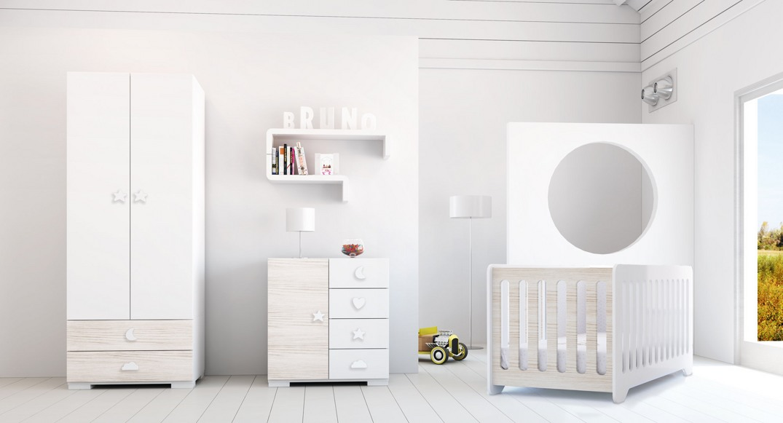 habitación infantil madera