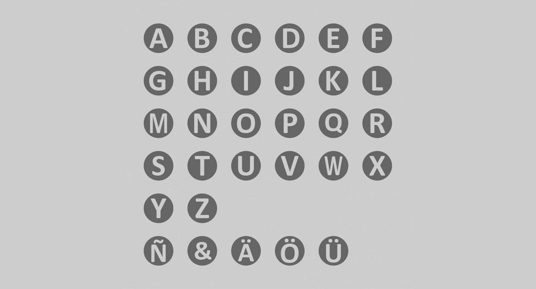 vinilo letras infantiles