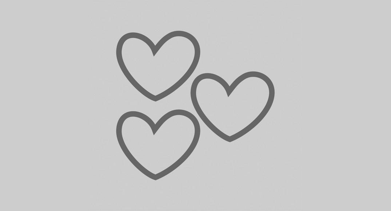 vinilo dibujos infantiles corazones Y2D-COR3 del dibujo infantil