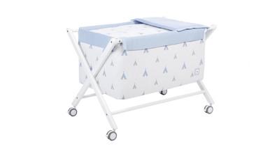 eac2d138a8fd Minicunas para bebés modernas y de colores, marca Alondra