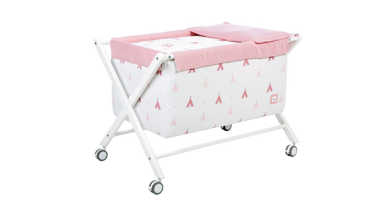 minicuna alondra coordinado textil Alondra indiana rosa 112