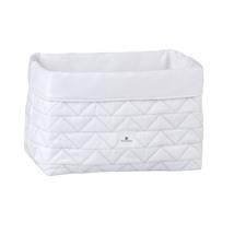 cesta infantil tela cesta color blanco acolchado 190 Alondra
