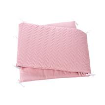 protector texil cuna 607 color rosa 152 Alondra