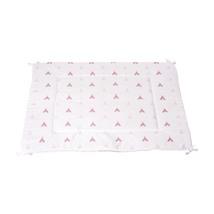alfombra tipi color rosa con detalles infantiles 112 Alondra
