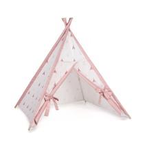 tipi cabaña de indios color rosa con detalles infantiles 112 Alondra