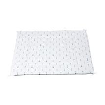 alfombra tipi color blanco con detalles infantiles 140 Alondra