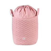 baúl juguetero tela color rosa 152 Alondra
