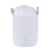 baúl juguetero tela color blanco acolchado 190 Alondra