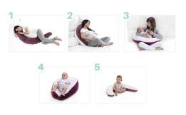 Múltiples utilidades del cojín de maternidad