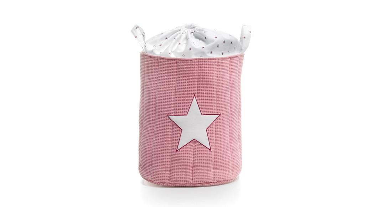 saco de juguetes textil coordinado textil Alondra rose 182