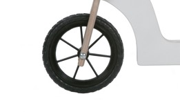 Juguete infantil con ruedas de goma maciza