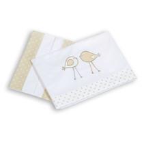 Sábanas cuna bebé 3 piezas algodón coordinado 202 Alondra