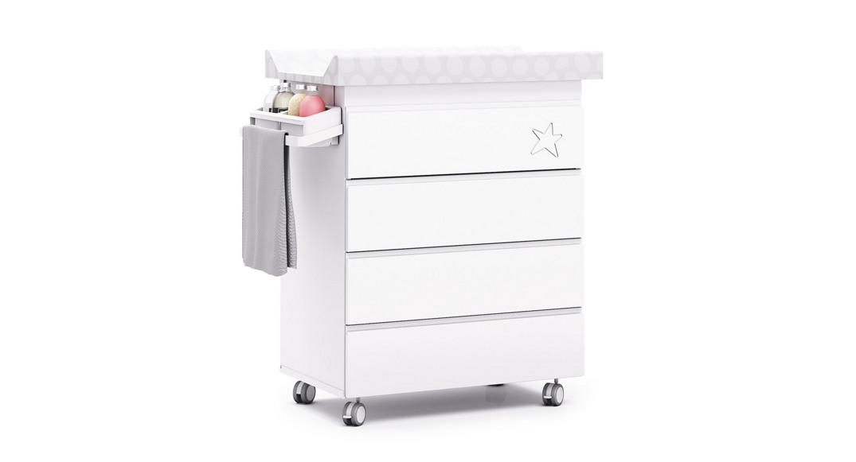 Moderno mueble ba era cambiador para beb orbit alondra - Cambiador bebe para comoda ...