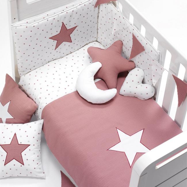 Textil y ropa de cuna bebé Rose Alondra