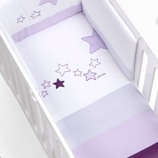 Textil bebé y ropa de cuna Alondra lila