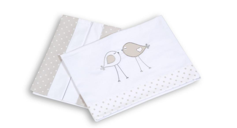 S banas para cuna de beb 60x120 blancas alondra - Sabanas de ninos ...