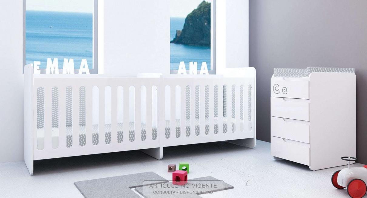 Cunas convertibles para gemelos baratas online precios - Cunas para bebes gemelos ...