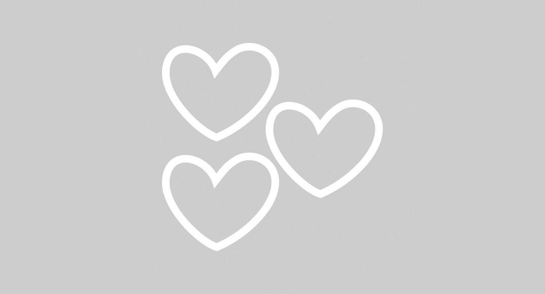 vinilo dibujos infantiles corazones Y1D-COR3 del dibujo infantil