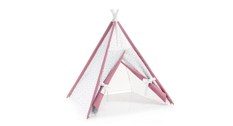tipi cabaña de indios coordinado textil Alondra rose 182