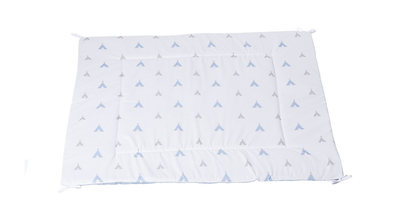 alfombra tipi coordinado textil Alondra indiana blu 111