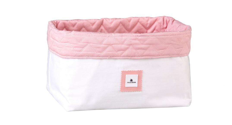 cesta colonias infantiles coordinado textil Alondra arosa 152