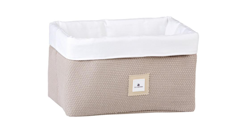 cesta colonias infantiles coordinado textil Alondra arena 153