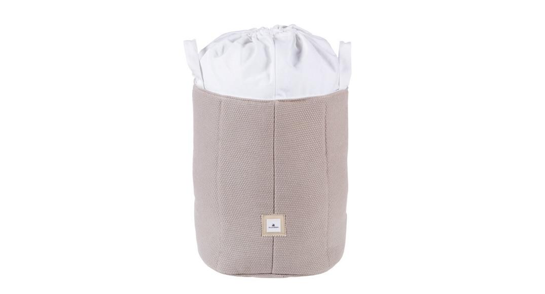 saco de juguetes textil coordinado textil Alondra arena 153