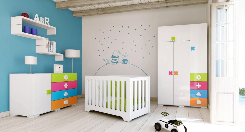 habitación infantil maths dormitorio niño y niña X351T-2350