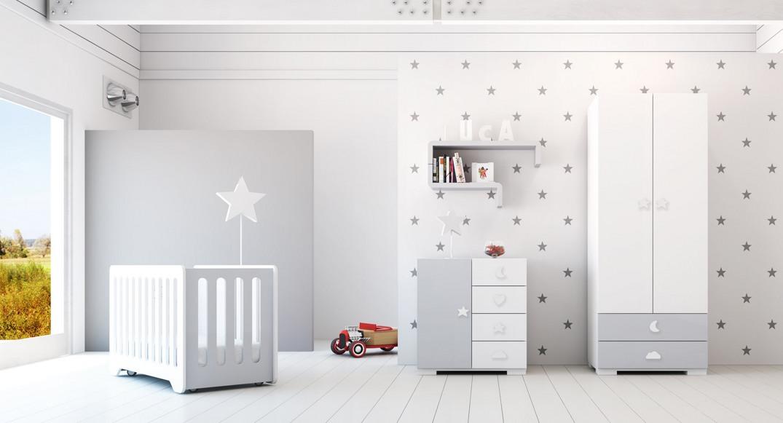 habitación infantil espacios pequeños