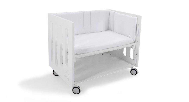 minicuna colecho inborn crib patas metal