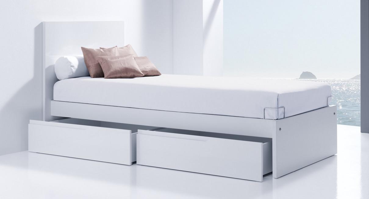 Cabecero de cama infantil blanco para ni o o ni a unisex - Cabeceros de cama blancos ...