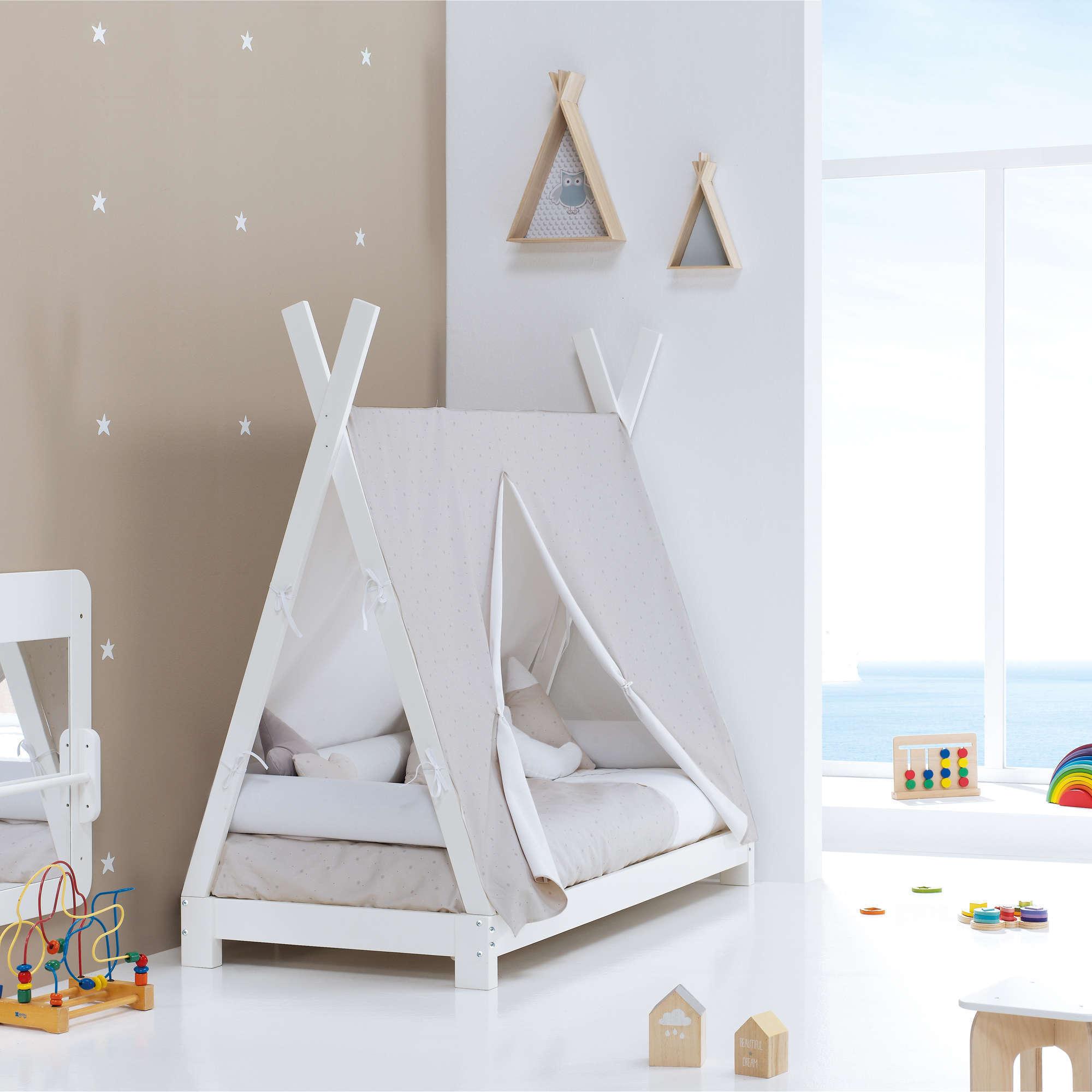 Cama Montessori Indy en beige Alondra