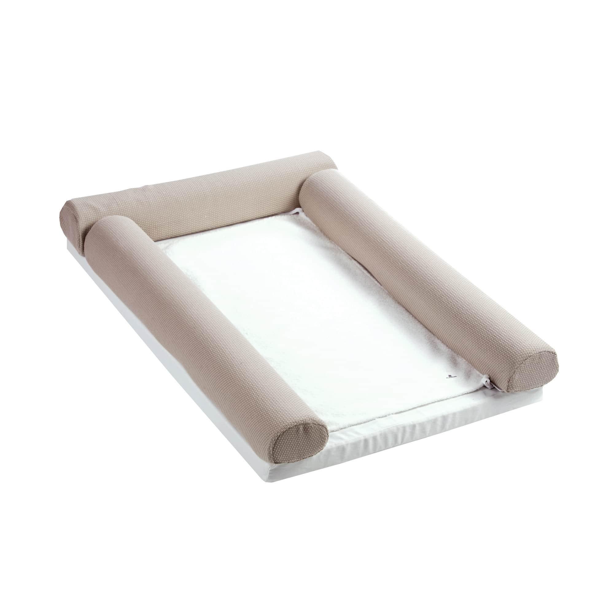 Cambiandor de cuna transformable en cama 70x140 cm Arena
