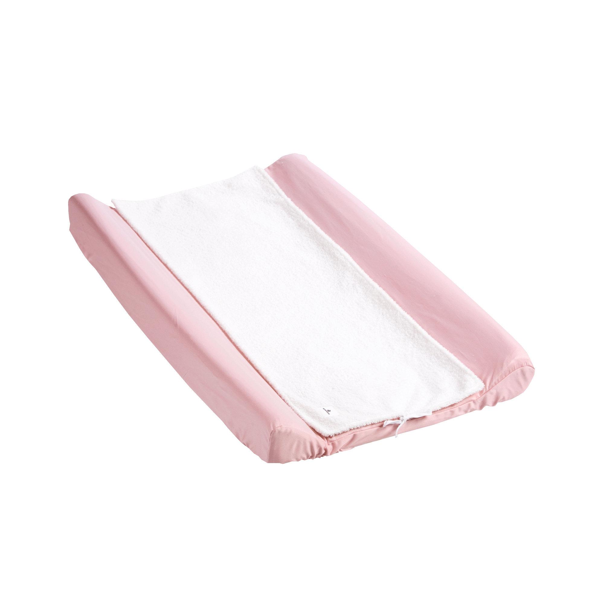 Cambiadores textiles para bebé en color rosa