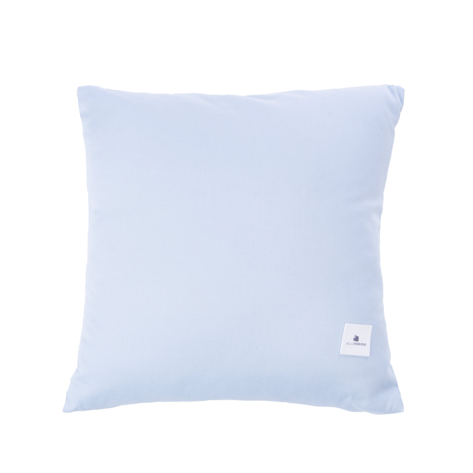 Cojines infantiles decorativos para habitación de bebé azul claro