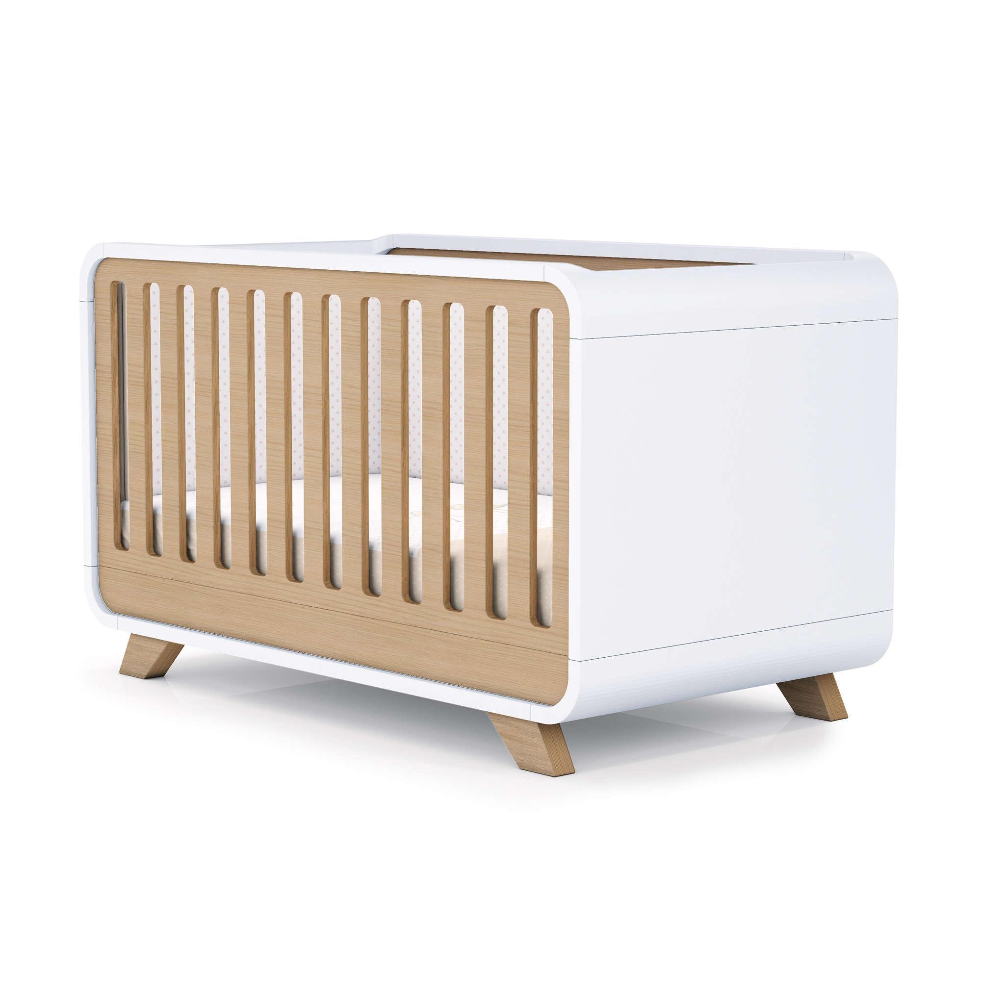 Cunas de madera para bebés tamaño 70x140cm