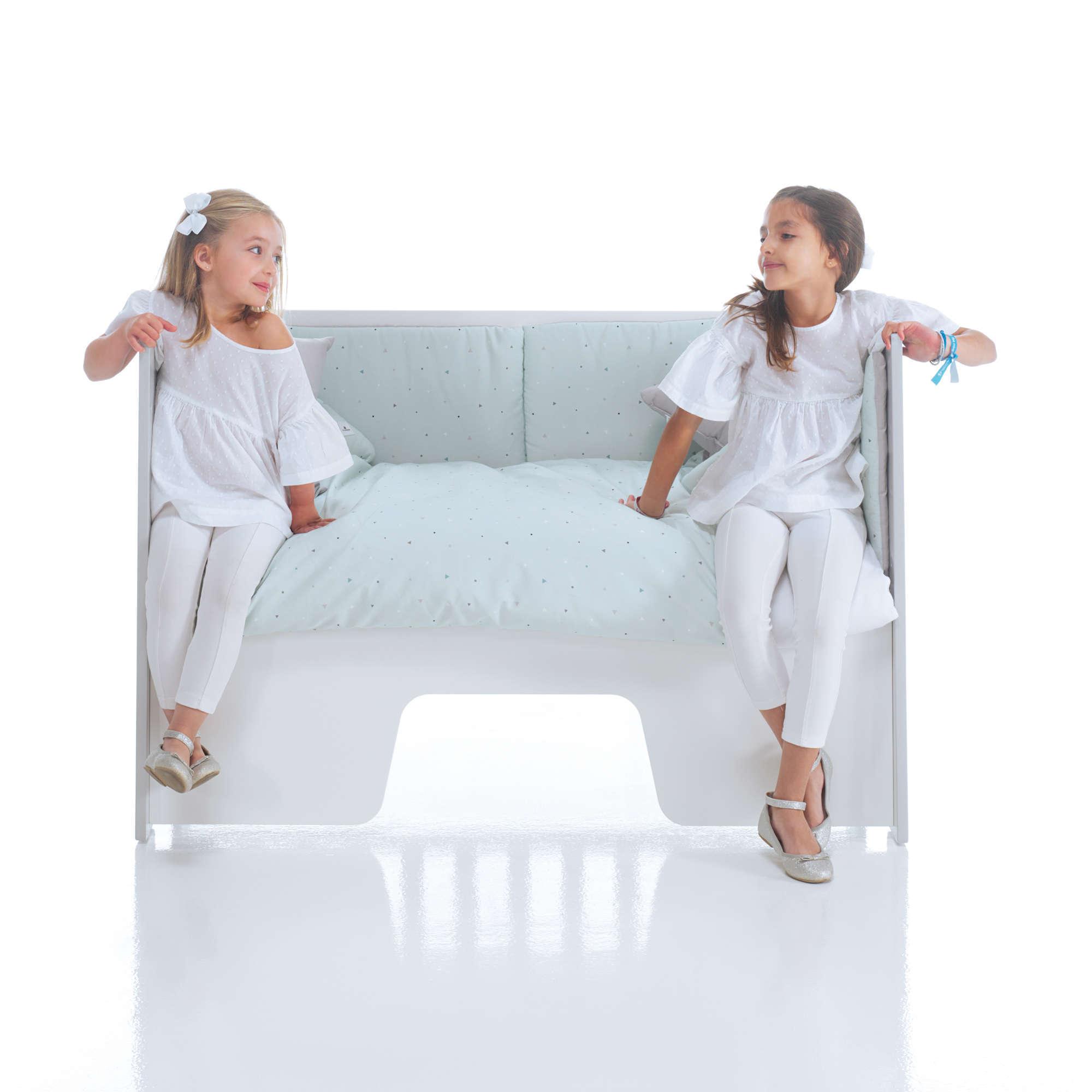 Cuna-sofá Omni 5en1 60x120 Alondra
