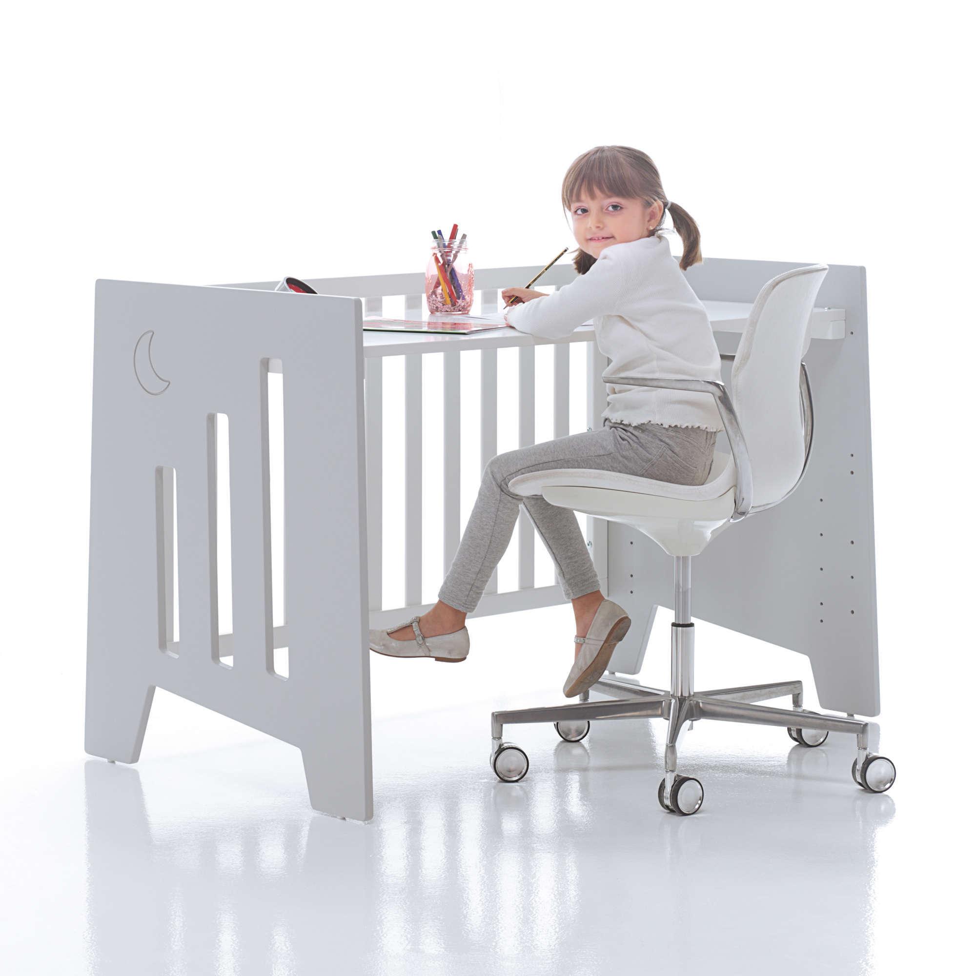 Cuna-escritorio Omni 5en1 60x120 Alondra