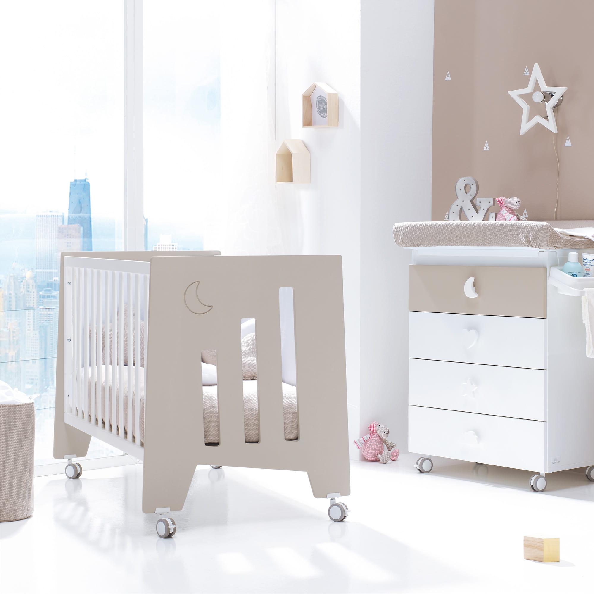 Cunas baratas de bebé tamaño 60x120cm modernas