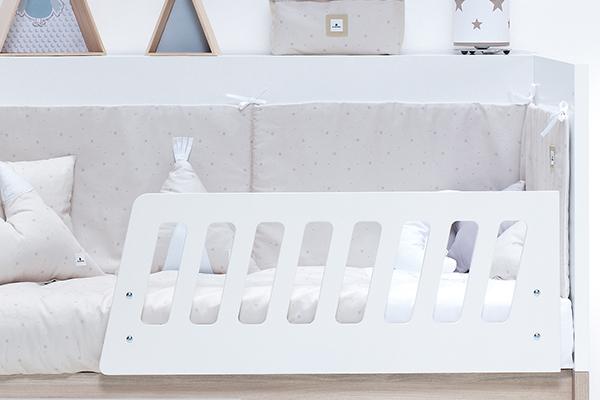 Barrera cama / cuna de fácil instalación
