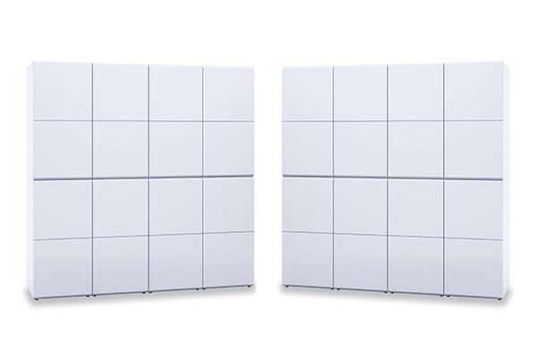 Puertas reversibles armario modular de Alondra
