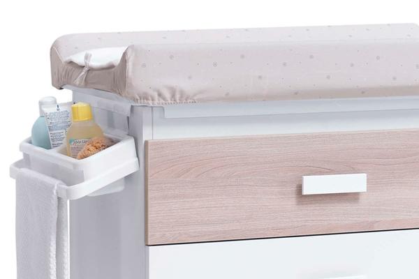 Pomos de plástico mueble bañera bebé Kubo Alondra