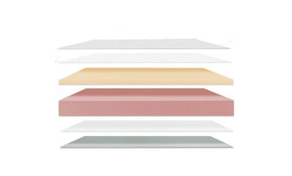 Composición colchón viscoelástica cuna Alondra