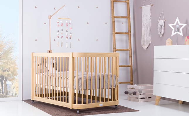 Cuna para bebé grande de 70x140cm